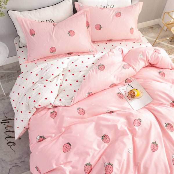 Fashion Strawberry Bedding Set PN1478
