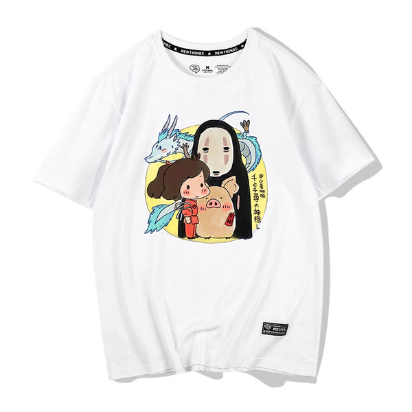 Fashion Spirited Away Lover Tshirt PN1376