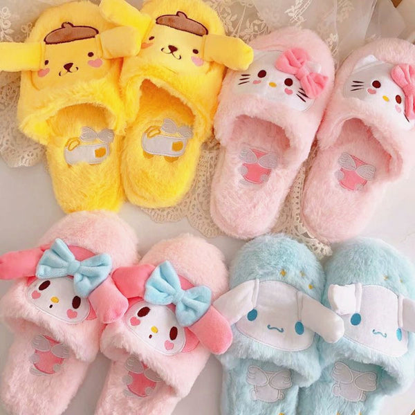 Cartoon Dogs Slippers PN2547