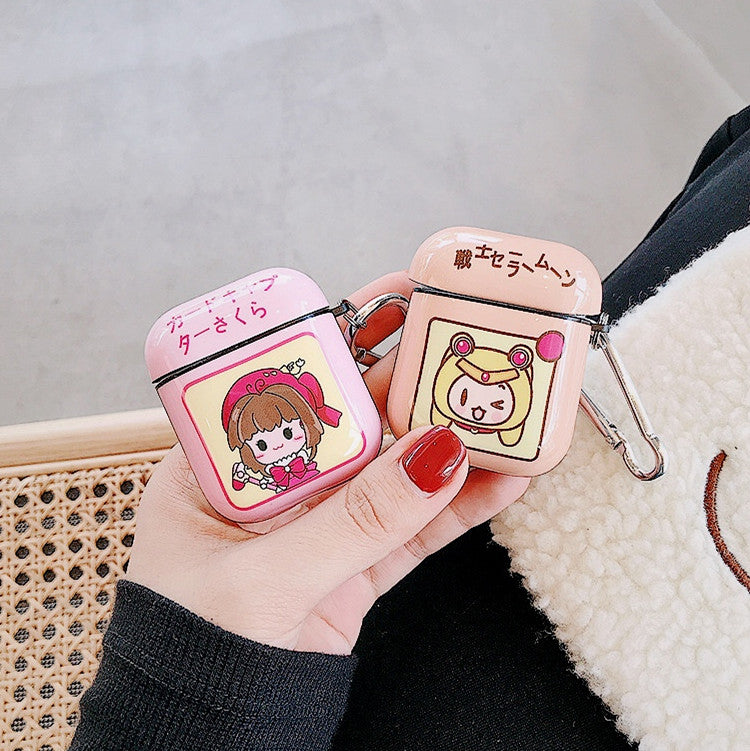 Sakura Girl Airpods Case For Iphone PN2525
