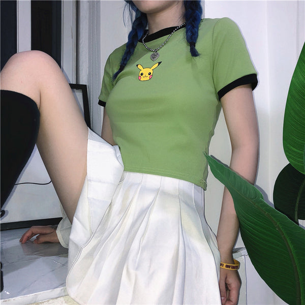 Fashion Pikachu Top and Skirt PN1526