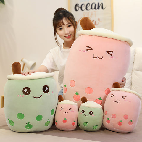 Cute Bubble Tea Hold Pillow PN2884