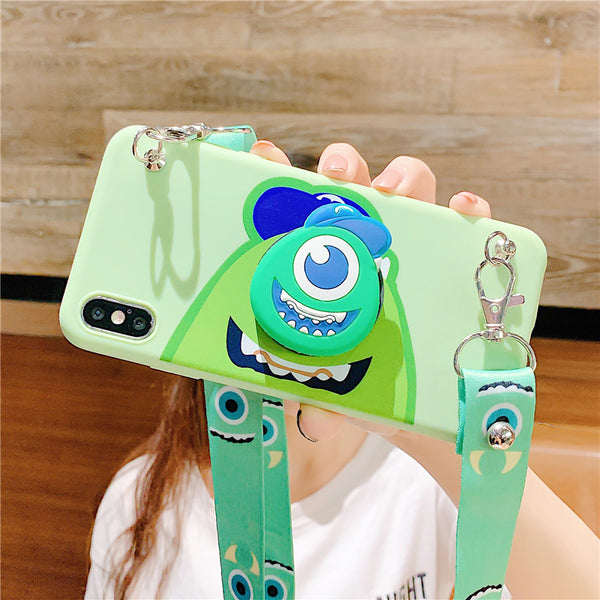 Cartoon Mike Phone Case for iphone 6/6s/6plus/7/7plus/8/8P/X/XS/XR/XS Max PN1933