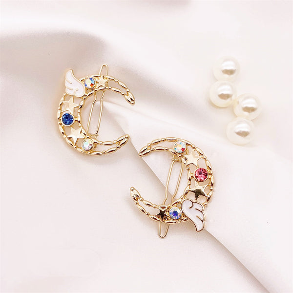 Fashion Wings Crystal Hair Clip PN2078