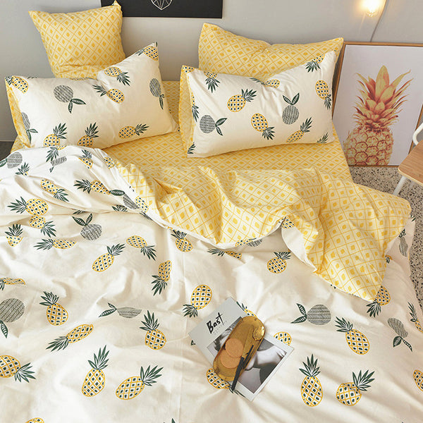 Fashion Pineapple Bedding Set PN1532