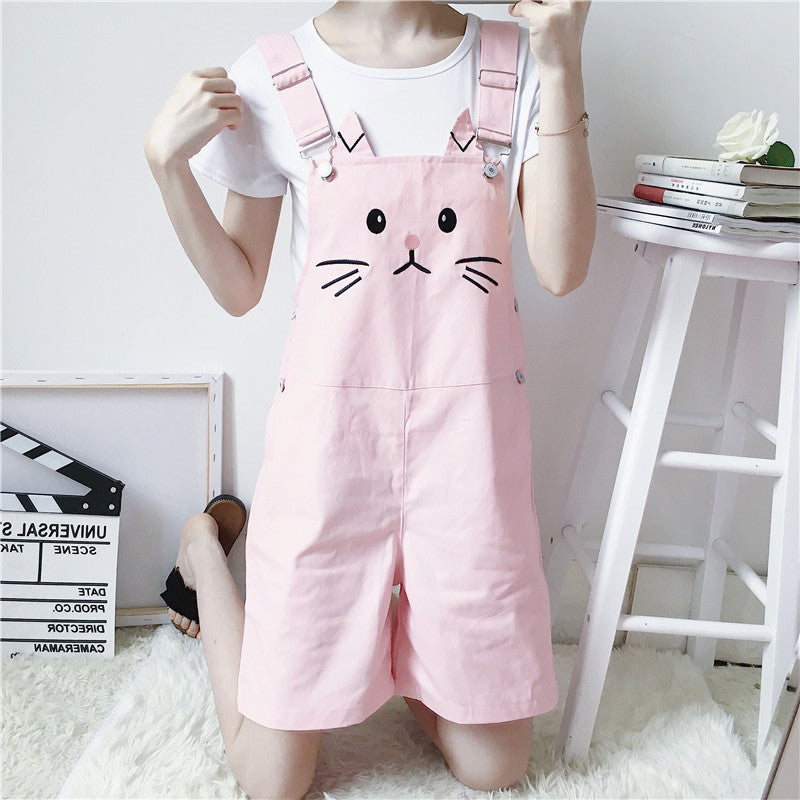 Fashion Cats Strap Shorts PN1499