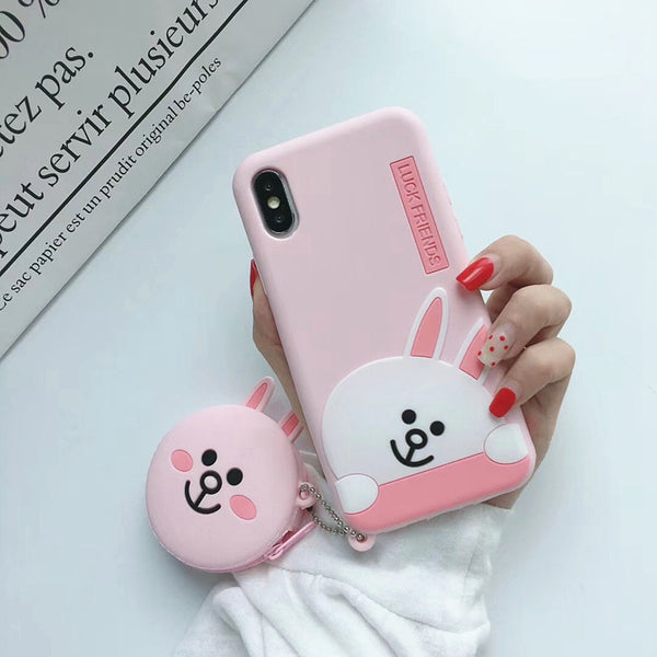 Lucky Friends Phone Case for iphone 6/6s/6plus/7/7plus/8/8P/X/XS/XR/XS Max PN1671