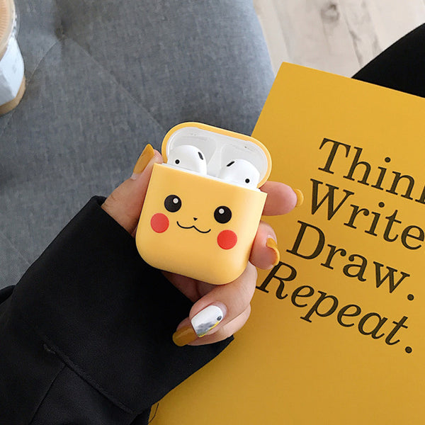 Lovely Pikachu Airpods Case For Iphone PN1342