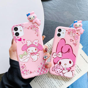 Cartoon Anime Phone Case for iphone 7/7plus/8/8P/X/XS/XR/XS Max/11/11pro/11pro max/12/12mini/12pro/12pro max PN3548