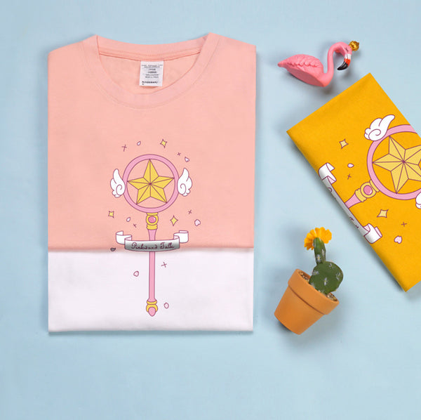 Fashion Cartoon Sisters Tshirt PN2734