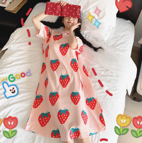 Fashion Strawberry Dress PN1414