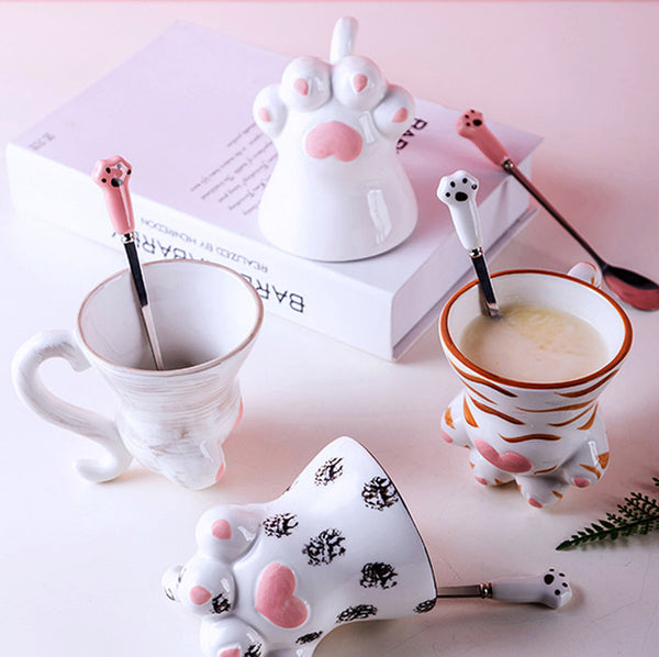 Cute Cats Paws Cup PN2072