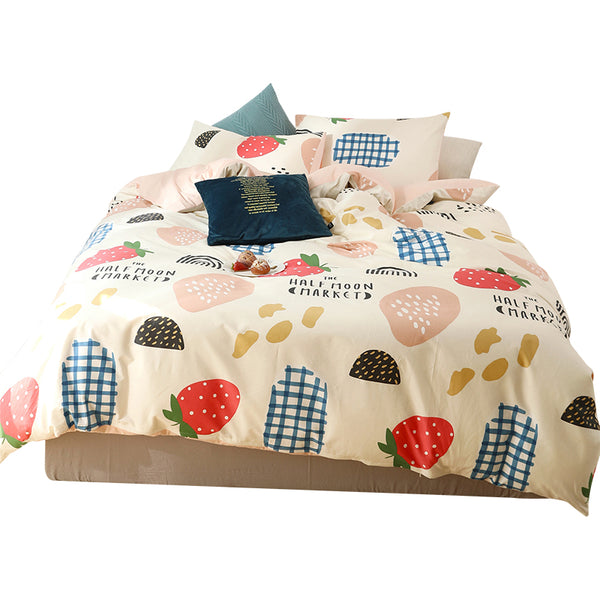 Cute Strawberry Bedding Set PN2589