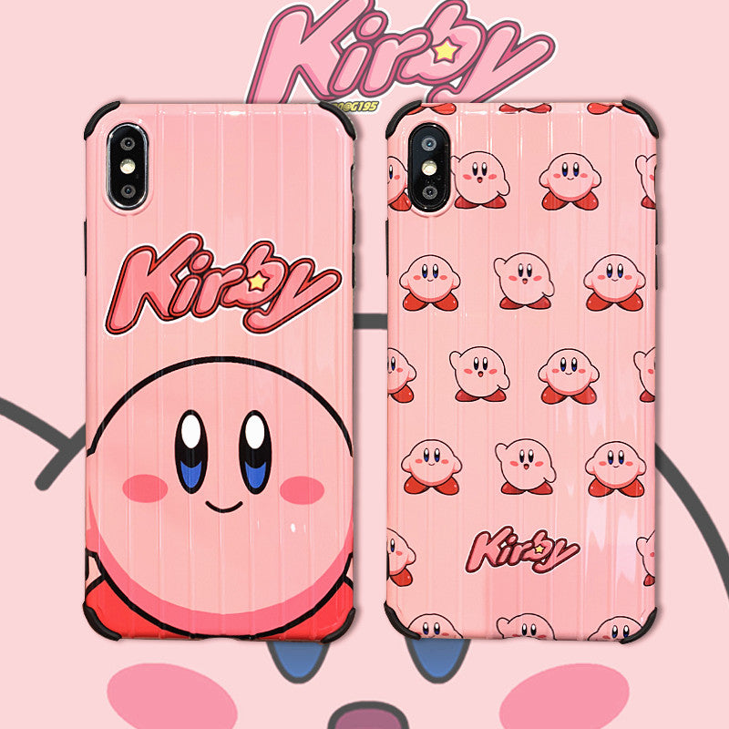 Cute Kirby Phone Case For Iphone 6 6s 6plus 7 7plus 8 8p X Xs Xr Xsmax Pennycrafts