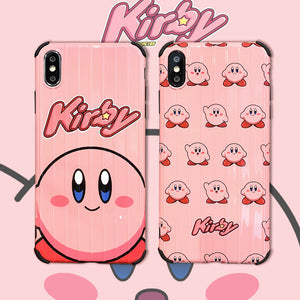 Cute Kirby Phone Case for iphone 6/6s/6plus/7/7plus/8/8P/X/XS/XR/XSmax PN1462