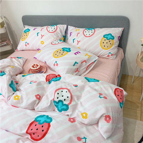 Sweet Strawberry Bedding Set PN3149