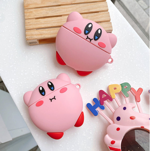 Cute Kirby Airpods Case For Iphone PN2909