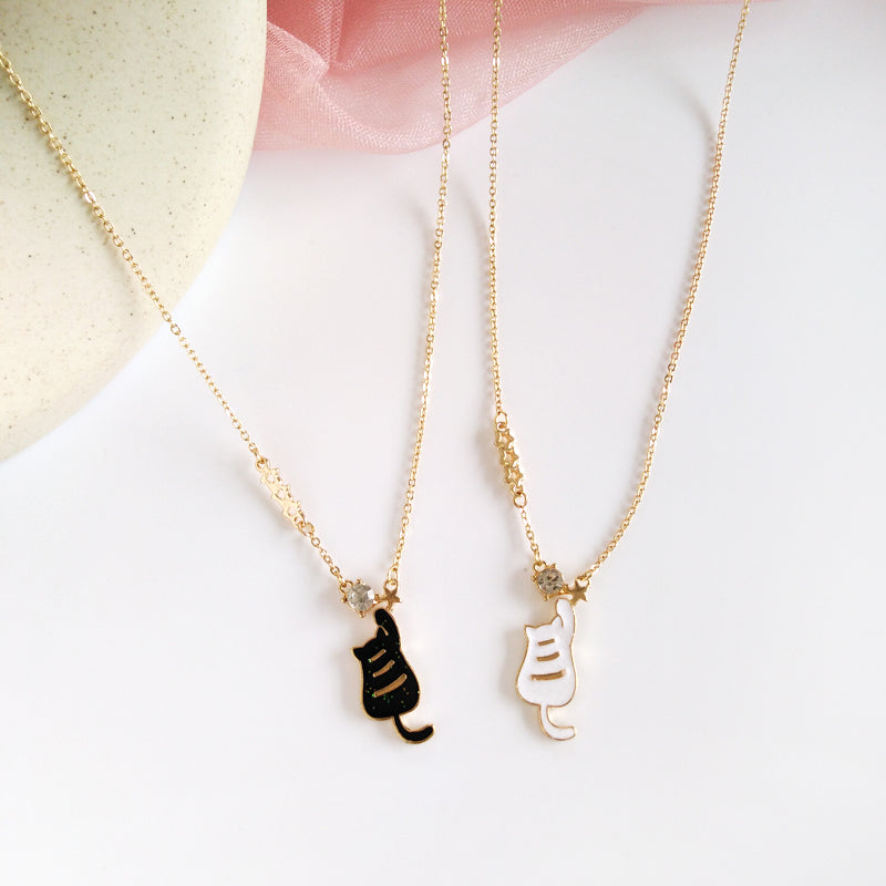 Lovely Cat Necklace PN2178