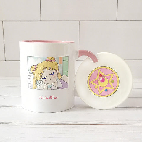 Cute Sailormoon Mug Cups PN3585