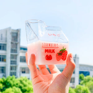 Fashion Fruits Glass Water Cups PN2714