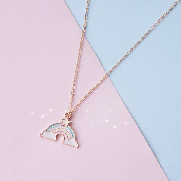 Fashion Lucky Rainbow Necklace PN1582