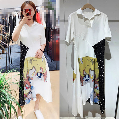 Fashion Usagi Long T-shirt/Dress PN1601