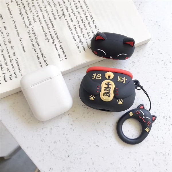Fortune Cat Airpods Case For Iphone PN1467