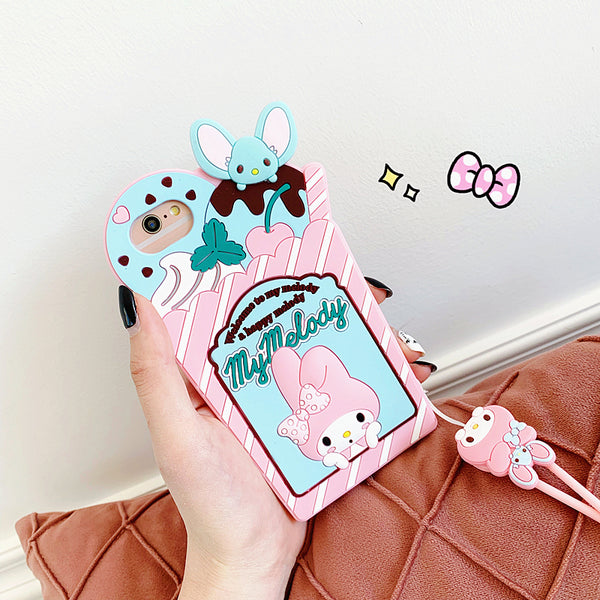 Cinnamoroll Phone Case for iphone 6/6s/6plus/7/7plus/8/8P/X/XS/XR/XS Max/11/11pro/11promax PN2058
