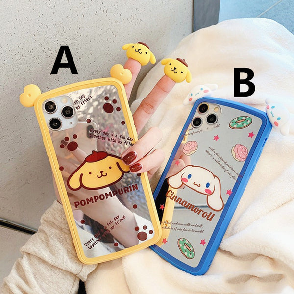 Cute Cinnamoroll Phone Case for iphone 7/7plus/8/8P/X/XS/XR/XS Max/11/11pro/11pro max PN2217