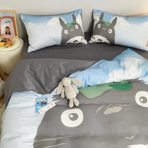 Cartoon Totoro Bedding Set PN2531
