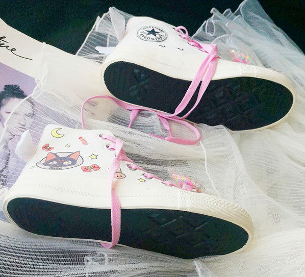 Fashion Usagi and Luna Canvas Shoes PN1686