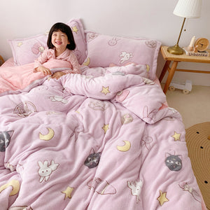 Cute Luna Bedding Set PN3070