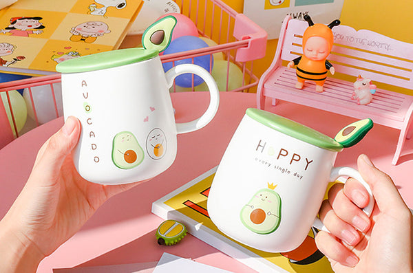 Kawaii Avocado Water Cup PN2527