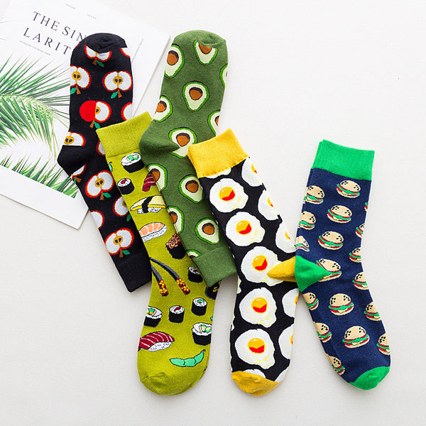 Fashion Avocado Socks PN1479