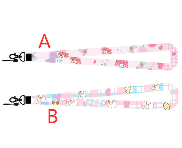 Lovely Cinnamoroll and Mymelody Phone Lanyard PN1726