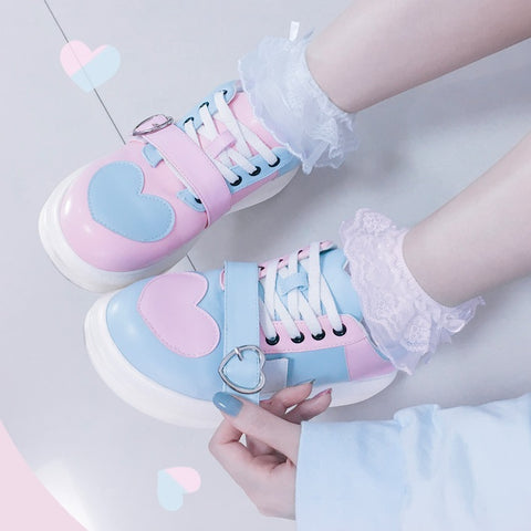 Fashion Lolita Heart Shoes PN2475