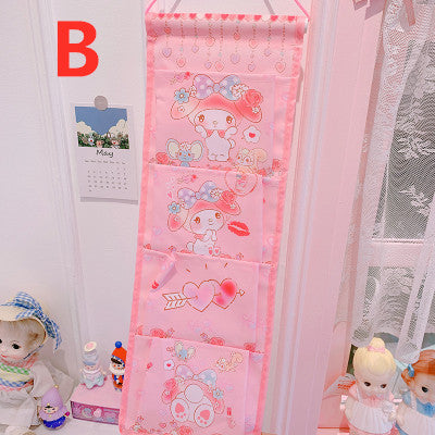 Kawaii Cinnamoroll and My melody Wall Hanging Box PN2188