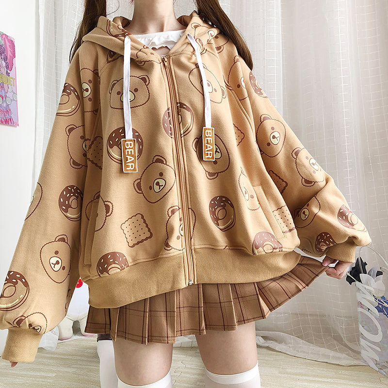 Cute Bear Coat PN3197
