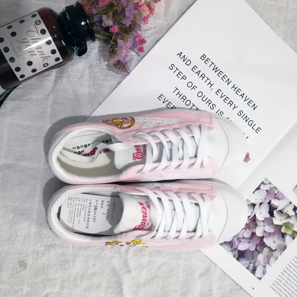 New Style Sailor Moon Usagi Canvas Shoes PN1333