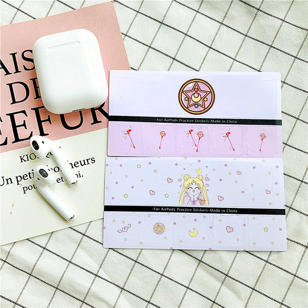 Sailormoon Airpods Stickers For Iphone PN1157