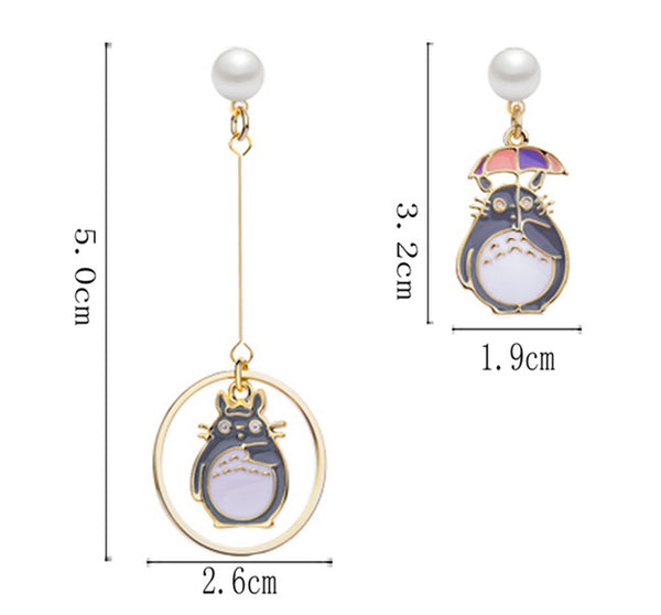 Totoro Earrings/Clips PN2246