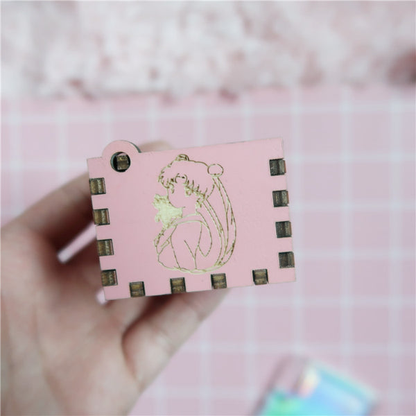Sailormoon DIY Mechanical Music Box PN1112