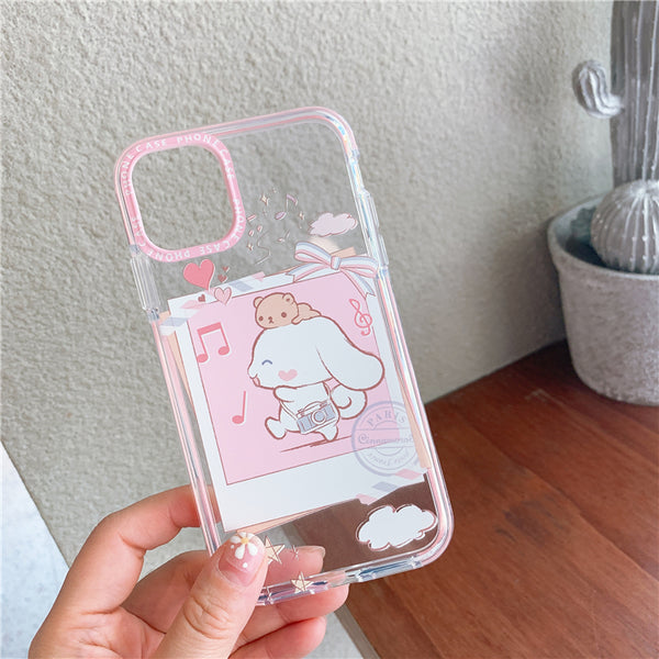 Cute Cinnamoroll Phone Case for iphone 7/7plus/8/8P/X/XS/XR/XS Max/11/11pro/11pro max PN2364