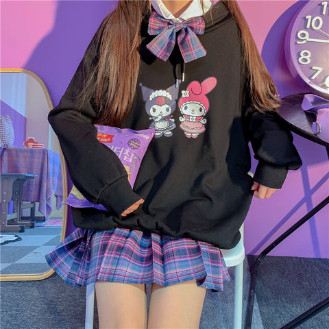 Fashion Devil Girls Hoodie PN3689