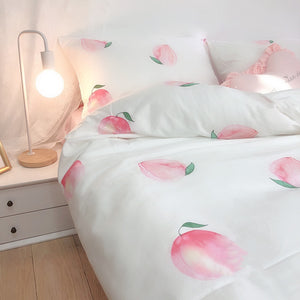 Pretty Peach Bedding Set PN3005
