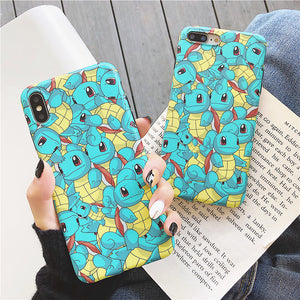 Cute Squirtle Phone Case for iphone 6/6s/6plus/7/7plus/8/8P/X/XS/XR/XS Max PN1785