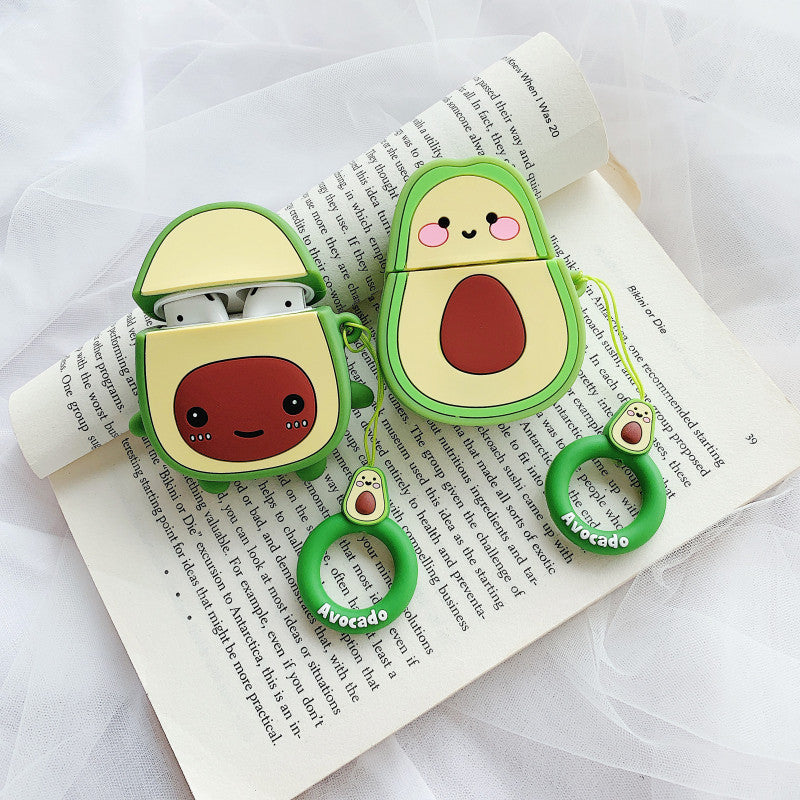 Smile Avocado Airpods Case For Iphone PN1591 – Pennycrafts