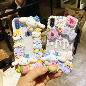Cute Anime Phone Case for iphone 6/6s/6plus/7/7plus/8/8P/X/XS/XR/XS Max/11/11pro/11pro max PN3482