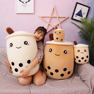 Lovely Bubble Tea Hold Pillow PN3040