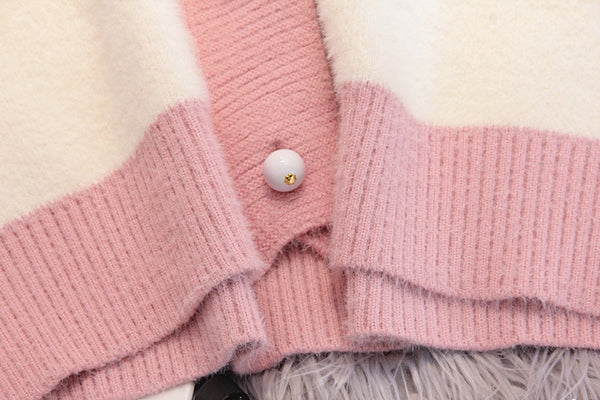 Fashion Sweet Sweater Knitted Coat PN1897